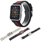 Silicone/Genuine Leather/Milanese Magnetic Strap Band for Apple Watch iWatch 1/2
