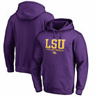 Lsu Tigers Fanatics Branded NCAA True Sport Volleyball Mens Poh Sweatshirts