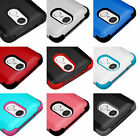 for LG Phoenix 3 / Fortune / Rebel 2 - Hybrid Shockproof Armor Phone Case Cover