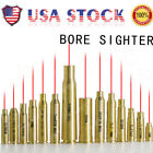 US Red Dot Laser Brass Boresight CAL Cartridge Bore Sighter For Gun Rifle Scope