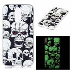 TPU Night Lights Rubber Cover Skin Fashion Painted Soft Fluorescence Case For LG