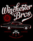 SUPERNATURAL T SHIRT winchester brothers monster ghost hunters 67 impala urban