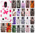 LG Grace LTE IMPACT TUFF HYBRID Protector Case Skin Phone Cover +Screen Guard