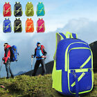 Men Women Vintage Canvas Backpack Rucksack Schoolbag Travel Hiking Bag Sports