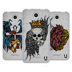 HEAD CASE DESIGNS TATTOO WINGS SOFT GEL CASE FOR LENOVO A PLUS