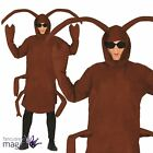 Adults Mens Ladies Cockroach Bug Insect Halloween Fancy Dress Costume Outfit