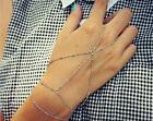 new Hamsa finger ring hand chain harness slave Punk style Harness Finger Bangles