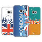 HEAD CASE DESIGNS LONDON CITYSCAPE SOFT GEL CASE FOR HTC PHONES 1