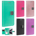 For iPhone 7 & 7 PLUS Flip Out Pocket Wallet Case Pouch Cover + Screen Guard