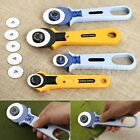 Quilting Patchwork Sewing Manual Cloth Cutting Knife Roller Wheel Round Cutter