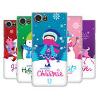 HEAD CASE DESIGNS CHRISTMAS TIDINGS BACK CASE FOR BLACKBERRY KEYONE / MERCURY