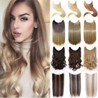 Secret Invisible Headband Wire Hair Extensions Long Wavy Straight Fake Hair LC