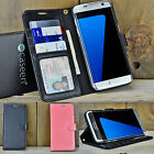 For Samsung Galaxy S7 / S8 Plus Luxury Leather Wallet Case Stand Flip Cover
