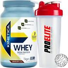 Kinetica Whey Protein 1kg/1000g/33 Servings-Trusted by sport+Free Shaker
