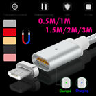 0.5M-3M 2.4A Magnetic LED Micro USB Fast Charging Cable for
