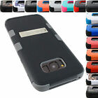 FOR APPLE IPHONE 8 SHOCK PROOF TUFF RUGGED CASE KICKSTAND HYBRID COVER+STYLUS