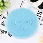 2017 Silicone Dish Washing Sponge Scrubber Kitchen Cleaning antibacterial Tool