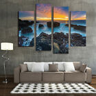 4/5Pc Modern Abstract Canvas Prints Painting Picture Home Wall Art Dec Unframed