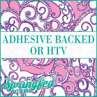 LP Inspired Anchors Pattern #1 in Pink & Purple Adhesive Vinyl or HTV Crafts