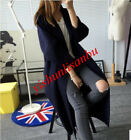 Women's Loose Cardigan Trench Jacket Coat Cloak Fashion Casual Autumn Long Coats