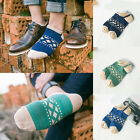 Literary Style Men Casual Cotton Low Socks Non-Slip Ankle Invisible Socks