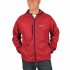 St. Louis Cardinals Majestic Strong Will Lightweight Fz Hooded Jackets - Red