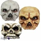 Halloween Bone Skull Half Scary Latex Horror Fancy Dress Skeleton Costume Mask