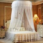 Ethereal Round Dome Mesh Mosquito Net Bed Canopy Bedding Netting Princess Lace