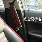 BM New 1 Pair Car Safety Seat Belt Shoulder Pads Cover Cushion Harness