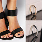 10pcs Women Boho Toe Rings Gold Silver Flexible Size Retro Rings Body Accessory