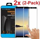 2X For Samsung Galaxy Note 8 3D Full Curved Screen Protector Tempered Glass