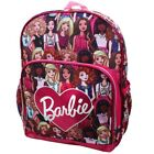 """BARBIE GIRLFRIENDS Full-Size 16"""" Backpack w/ Optional Insulated Lunch Box NWT"""