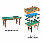 BLACK FRIDAY 4 in 1 Multi Game Table Hockey Foosball Mini Billiards Table Set