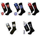 OFFICIAL BOYS GIRLS ARSENAL CHELSEA LIVERPOOL SPURS MANCHESTER CLUB SOCKS  4-6
