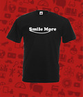 Smile More Personalised T Shirt Gaming You Tube Cart Sweat Childs All Sizes