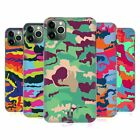 HEAD CASE DESIGNS COLOURFUL CAMOUFLAGE HARD BACK CASE FOR APPLE iPHONE PHONES