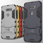 For LG V30 / V30 Plus Case Hard Kickstand Protective Shockproof Slim Phone Cover