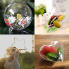 Sale Plastic Hollow Christmas Ball Hanging Baubles Xmas Tree Ornament In Bulk