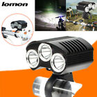 IPX-55 Waterproof Life Rating LED Outdoor T6 Mountain Bikes Charge Headlights