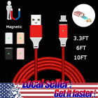 3~10FT US# 2.4A Fast Current Magnetic Micro USB Charger Tran