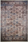 LA Rugs Gray Repeat Rings Scrolls Traditional-European Area Rug Geometric 324-16