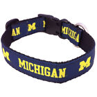 Michigan Wolverines NCAA Pet Dog Collar All Star Dog Quality (3 sizes)