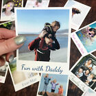 PHOTO PRINT POSTCARDS REGULAR OR POLAROID STYLE. PACKS OF 8-15 PERSONALISED GIFT