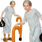 Girls Boys Childs Book Week Nightdress Granny Wendy Fancy Dress Costume Outfit