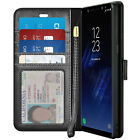 For Samsung Galaxy Note 8 / Note 9 Luxury Leather Wallet Case Flip Stand Cover