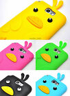 For Samsung Galaxy Note 2 II Cute Funny Duck Bird Case Silicone Gel Skin Cover