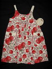 NWT $58 Boutique Tralala APPLE BLOSSOM 3 3T 4 4T Dress Sundress Girl Knit Red