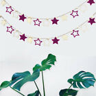 Star Banner Paper Garland Children Room Wall Backdrop ome Wedding Party Decor