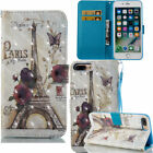 Wallet Leather Case For iPhone X 8 8Plus 7 7Plus 6 6Plus iPod Touch 5 / 6