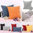 Velvet Square Rectangle Home Sofa Decor Throw Pillow Cover Case Cushion Cover US image